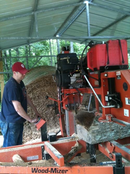 Running the mill